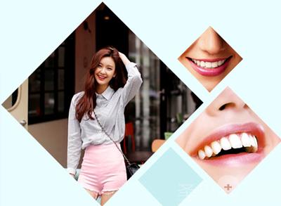 牙齿特点:此类人群适合的牙齿笑线呈海鸥飞翔状.